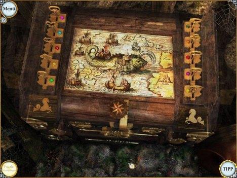 Die Omas True mit der Karte
