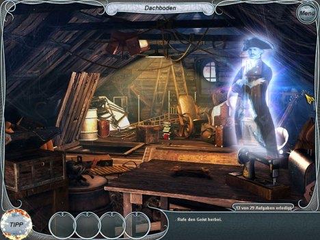 Spiel Die Schatzsucher 3: Auf den Spuren der Geister